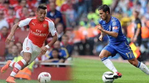 Truoc derby Arsenal - Chelsea Goi ten Sanchez hay Hazard hinh anh