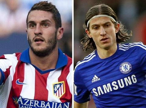 Chuyen nhuong Chelsea doi  Filipe Luis lay Koke hinh anh