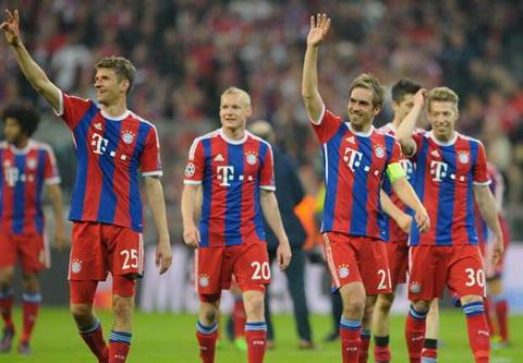 Bayern Munich vo dich Bundesliga 2014-2015 som 4 vong dau hinh anh