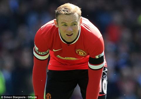 MU nhan tin buon Rooney co nguy co nghi thi dau toi het mua hinh anh