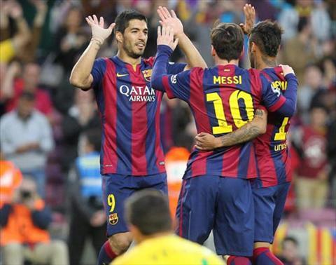Video ban thang Barcelona 6-0 Getafe (Vong 34 La Liga 2014-2015) hinh anh