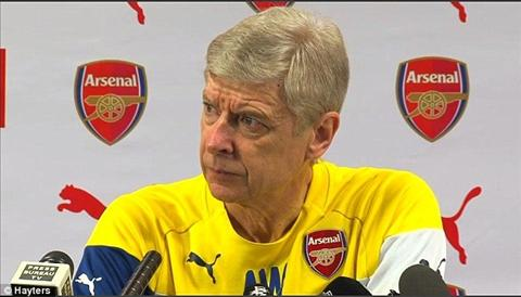 Arsenal vs Chelsea HLV Wenger quyet tam bao thu Mourinho hinh anh