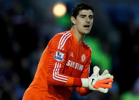 Courtois cua Chelsea hinh anh