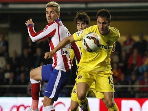 Video ban thang Villarreal 0-1 Atletico Madrid (Vong 34 La Liga 2014-2015) hinh anh