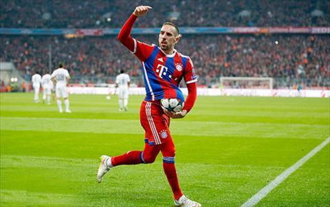 Franck Ribery la Messi cua Bayern Munich