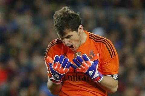 Iker Casillas cua Real Madrid muon o lai doi bong hinh anh