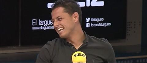 Chicharito cua Real ra suc lay long Ancelotti va Ronaldo hinh anh
