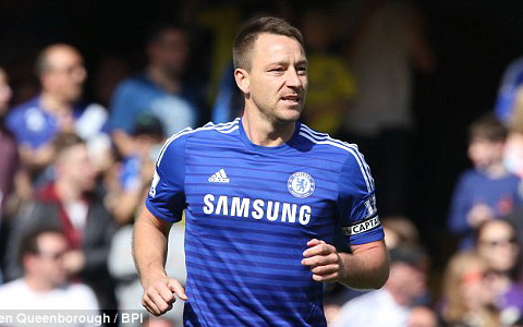 John Terry là hậu vệ xuất sắc nhất Premier League mọi thời đại