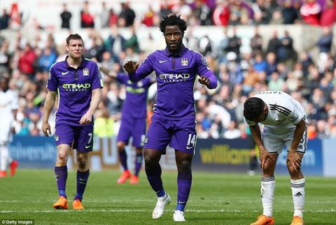 Thu linh Yaya Toure lap cu dup, Man City thang nghet tho Swansea City hinh anh 3