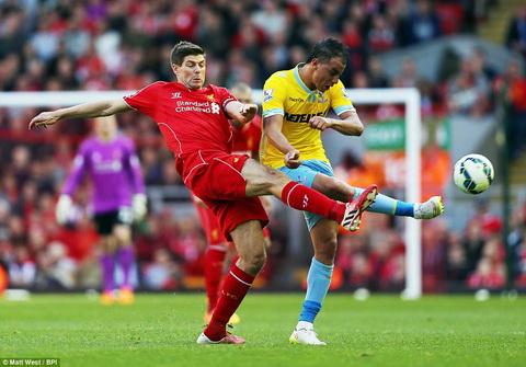 Ban than bieu tuong cua Liverpool cung thi dau mo nhat trong tran thua Crystal Palace