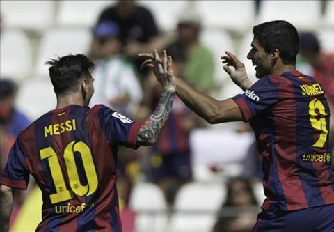 Video ban thang Cordoba 0-8 Barca (Vong 35 La Liga 20142015) hinh anh