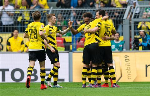 Dortmund khang dinh suc manh voi chien thang 17-0