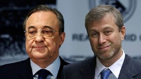 Florentino Perez va Roman Abramovic: Ai tan doc hon?