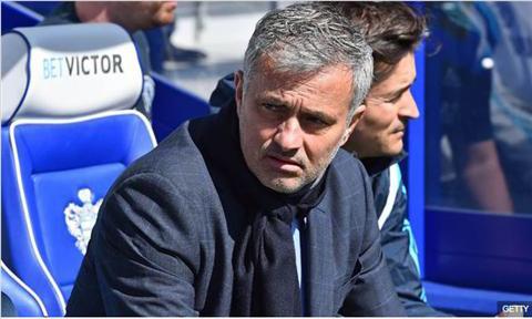 HLV Mourinho noi gi khi Chelsea chinh thuc vo dich Premier League hinh anh