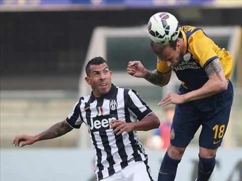 Video ban thang Verona 2-2 Juventus (Vong 38 Serie A 20142015 ) hinh anh