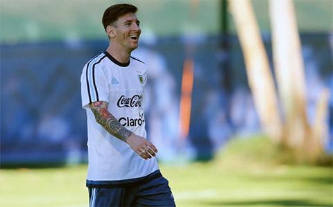 Lionel Messi Toi se giup Argentina vo dich Copa America 2015 hinh anh