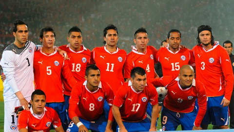DT Chile Ngua o cua Copa America 2015 hinh anh