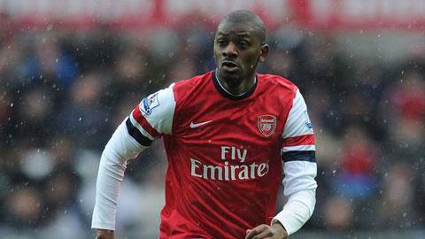 Diaby roi Arsenal vi khong duoc gia han hop dong.