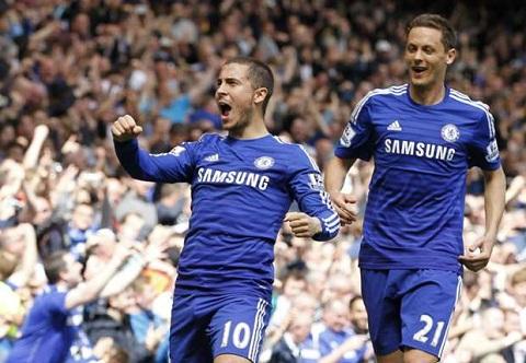 Eden Hazard cua Chelsea dat muc tieu ghi ban nhu tien dao hinh anh