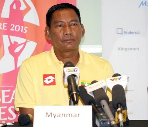 HLV Myanmar khong quan tam den U23 Viet Nam hinh anh
