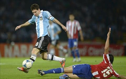 4h30 ngay 146 Argentina vs Paraguay (Bang B Copa America 2015) Thu tai Tata Martino hinh anh