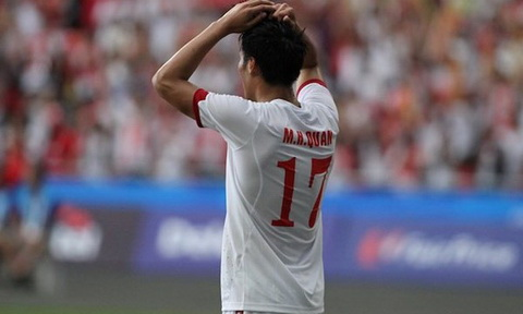 Co dung U23 Viet Nam thua vi kem may man hinh anh