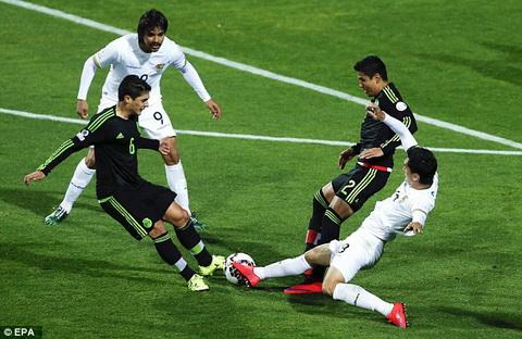 Video clip Copa America 2015 Mexico 0-0 Bolivia (Bang A) hinh anh