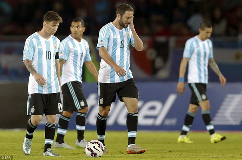 Argentina 2-2 Paraguay Tran hoa nguoc tiec nuoi cua ung vien vo dich hinh anh