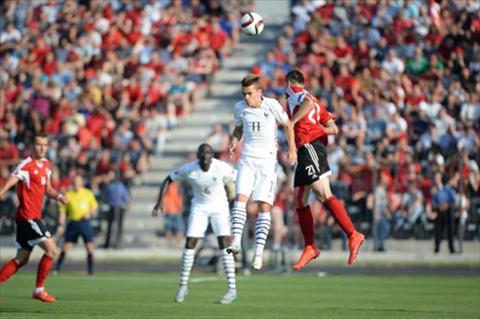 Video clip ban thang Albania 1-0 Phap (Giao huu quoc te) hinh anh