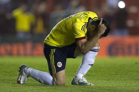 Falcao khien Colombia thua soc Venezuela hinh anh