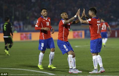 Video clip Copa America 2015 Chile 3-3 Mexico (Bang A) hinh anh