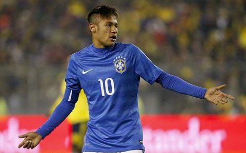 Neymar nhan the do, Brazil vo dich Copa America 2015 la khong the hinh anh