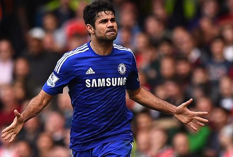 Diego Costa ghi ban giup Chelsea vo dich Premier League hinh anh