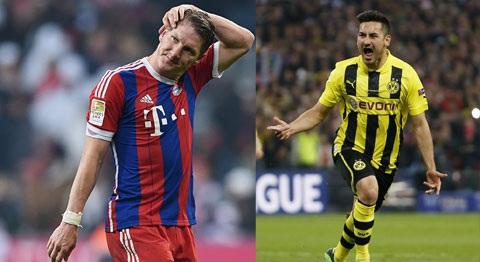 Guendogan cua Dortmund giup MU gianh Schweinsteiger hinh anh