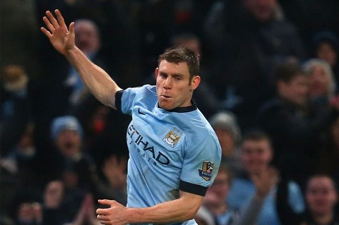 James Milner roi Man City cap ben  Liverpool hinh anh
