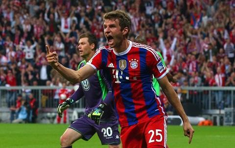 Thomas Mueller cua Bayern Munich tu choi MU hinh anh