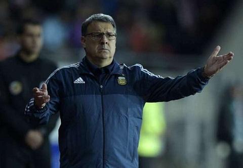 Tu ket CopaAmerica 2015 Argentina vs Colombia HLV Martino so trong tai hinh anh
