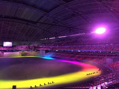 Le khai mac SEA Games 28 Singapore pho dien su giau co hinh anh