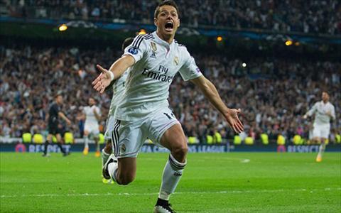 Atletico Madrid len ke hoach giai cuu Chicharito hinh anh