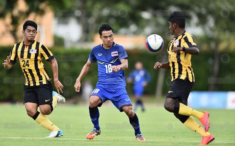 Link xem truc tiep tran dau bong da nam U23 Lao vs U23 Malaysia vong bang Seagame 28 hinh anh