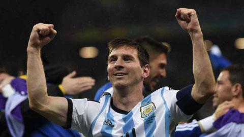Lionel Messi huong toi Copa America 2015 Bay gio hoac khong bao gio hinh anh