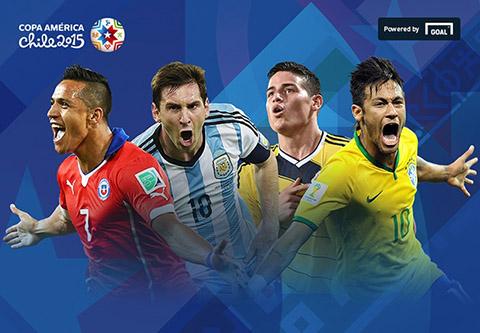 Vong bang Copa America 2015 Thua chan sut thieu ban thang hinh anh