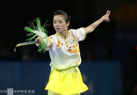Wushu Viet Nam Thanh cong o SEA Games, huong ra the gioi hinh anh