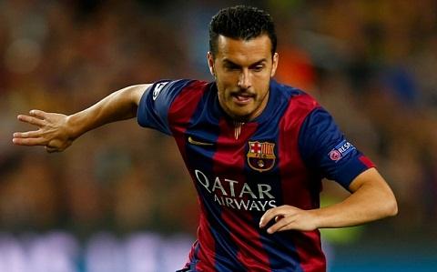 Thuong vu Pedro sang Chelsea co the do be vi tan chu tich Barca hinh anh