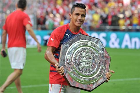 Arsenal thiet quan cho tran tranh sieu cup nuoc Anh voi Chelsea hinh anh