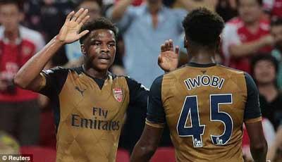 Ngoi sao Singapore 0-4 Arsenal