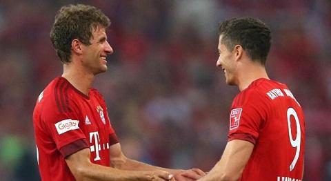 Lewandowski va Muller can ca doi hinh Real Madrid hinh anh