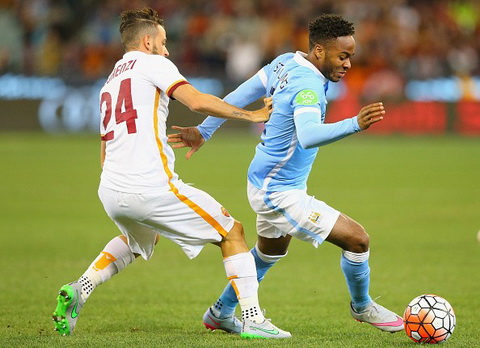 sterling man city as roma