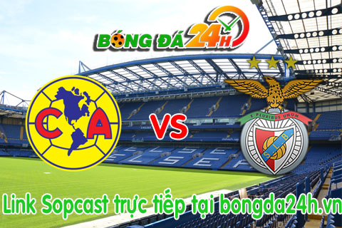 Link sopcast CF America vs Benfica (09h00-2907) hinh anh