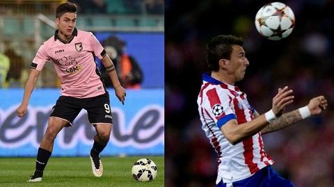 Voi cap Mandzukic-Dybala, hang cong Juventus se thay doi ra sao?